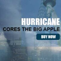 HURRICANE CORES THE BIG APPLE