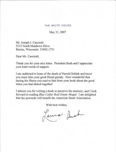 Letter form the White House
